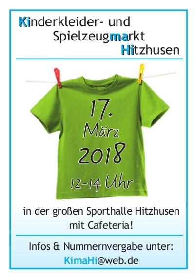 Kinderkleider- und Spielzeugmarkt im März 2018